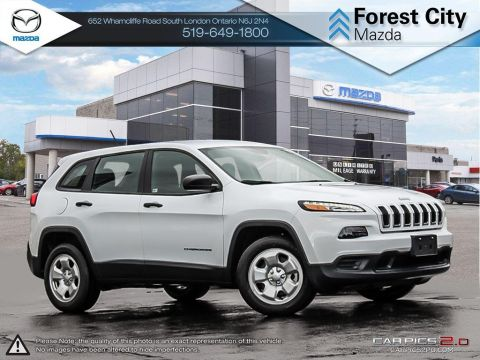 Pre-Owned 2018 Jeep Cherokee SPORT | DEMO