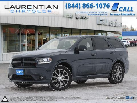Pre-Owned 2018 Dodge Durango GT-BACK-UP CAM! THIRD ROW SEATS!!! AWD