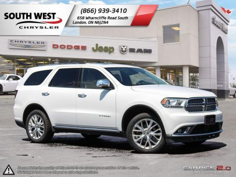 Pre-Owned 2015 Dodge Durango | Citadel | Only $225 Biweekly with $2500 Down*