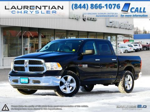 Pre-Owned 2016 Ram 1500 SLT- ECO DIESEL-BACK-UP CAMERA!! 4WD