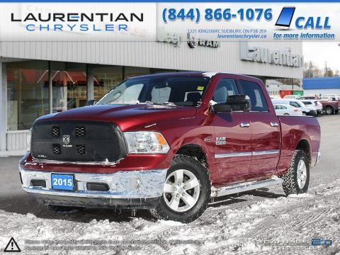 Pre-Owned 2015 Ram 1500 SLT - CERTIFIED - ECODIESEL!! TOW PACKAGE!! 4WD