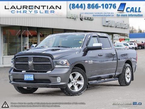 Pre-Owned 2014 Ram 1500 Sport NAVIGATION! ONE OWNER! 4WD