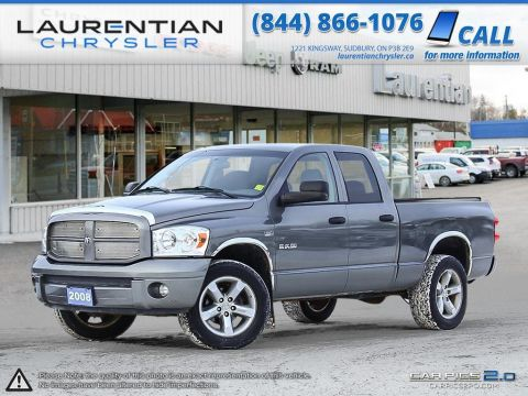 Pre-Owned 2008 Dodge Ram 1500 SLT- SELF CERTIFY- LOW KMS!!! 4WD