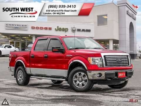 Pre-Owned 2011 Ford F-150 | SuperCrew | V8 | 4 X 4 | Tonneau Cover