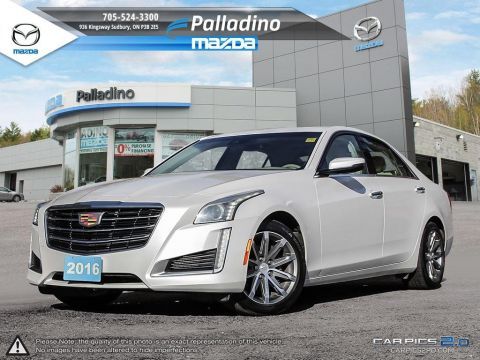 Pre-Owned 2016 Cadillac CTS Sedan Luxury Collection AWD - NEW TIRES AND REAR BRAKES AWD