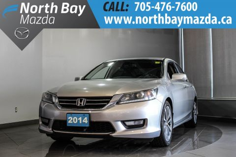 Pre-Owned 2014 Honda Accord Sport with Heated Seats, Dual Zone Climate Control