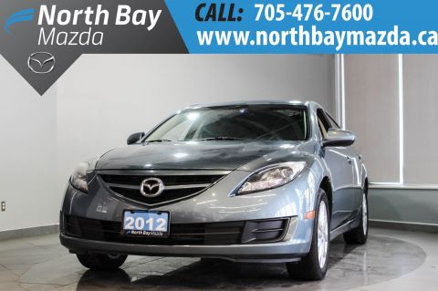 Certified Pre-Owned 2012 Mazda6 Spacious Interior + Sporty Driving Dynamics FWD 4dr Car