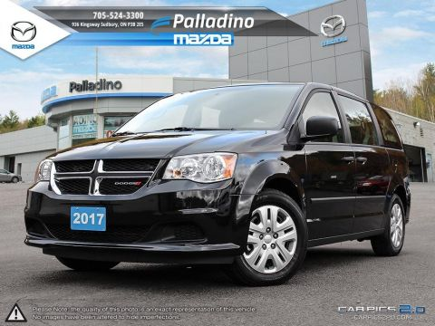 Certified Pre-Owned 2017 Dodge Grand Caravan CVP - FOLDING SEATS - DUAL CLIMATE CONTROL