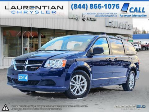 Pre-Owned 2014 Dodge Grand Caravan SXT-DVD PLAYER!!! STOW'N'GO !!!BLUETOOTH!!! FWD Mini-van, Passenger