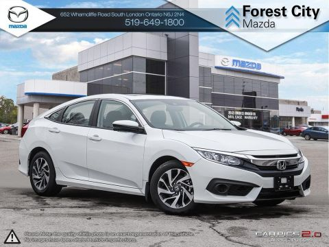 Pre-Owned 2018 Honda Civic | EX | Sunroof | Honda Sense | Adaptive Cruise FWD 4dr Car