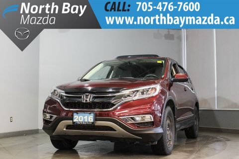 Pre-Owned 2016 Honda CRV EX AWD with Two Sets of Rims and Tires, Heated Seats AWD