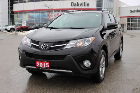 Pre-Owned 2015 Toyota RAV4 XLE w/Moonroof, Heated Seats & Backup Camera AWD