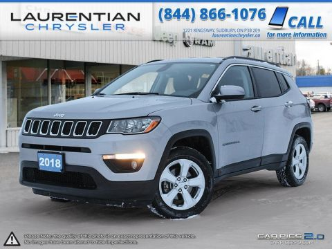 Pre-Owned 2018 Jeep Compass North - KEYLESS ENTRY! PUSH START IGNITION!!! 4WD