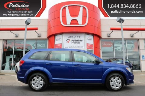 Pre-Owned 2012 Dodge Journey Canada Value Pkg - SELF CERTIFY -