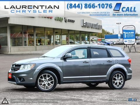 Pre-Owned 2013 Dodge Journey R/T Rallye- AWD!! LEATHER!! SUNROOF!! NAVIGATION!!
