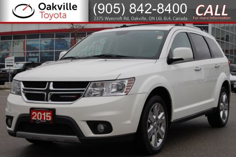 Pre-Owned 2015 Dodge Journey R/T with Clean Carfax and Single Owner AWD