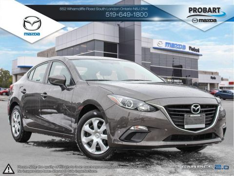 Pre-Owned 2015 Mazda 3 | A/C | Power Group | Fuel Efficient FWD 4dr Car