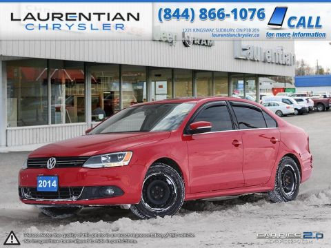 Pre-Owned 2014 Volkswagen Jetta Highline - 5 SPEED MANUAL!! PUSH START IGNITION!! FWD 4dr Car