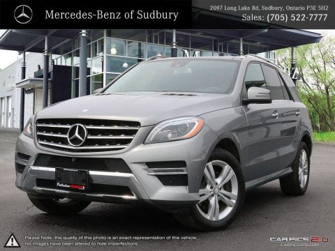 Certified Pre-Owned 2014 MERCEDES M CLASS ML350 - COMMENDABLE EFFICIENT V6 DIESEL ENGINE!!