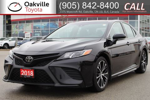 Certified Pre-Owned 2018 Toyota Camry SE Upgrade with Single Owner and Clean Carfax FWD 4dr Car