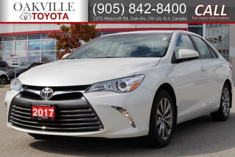 Certified Pre-Owned 2017 Toyota Camry XLE with Single Owner and Good Tires and Brakes