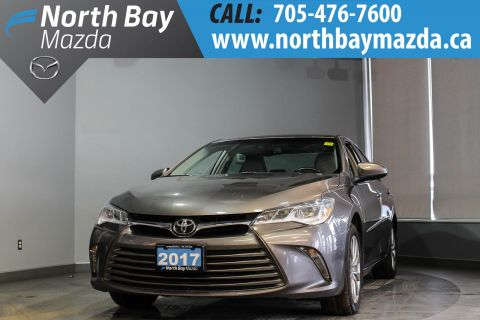 Pre-Owned 2017 Toyota Camry XLE V6 with Nav, Leather, Sunroof, Heated Seats
