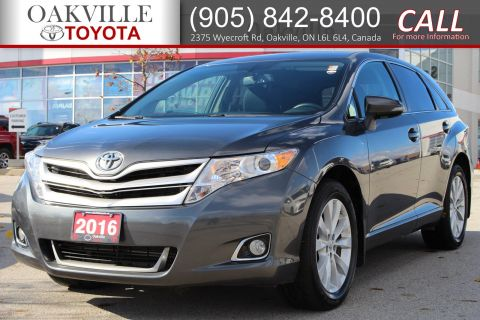 Certified Pre-Owned 2016 Toyota Venza LE with Clean Carfax and Full Service History