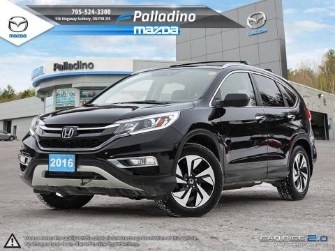 Certified Pre-Owned 2016 Honda CR-V Touring - BRAKE ASSIST - FREE WINTER TIRES- AWD