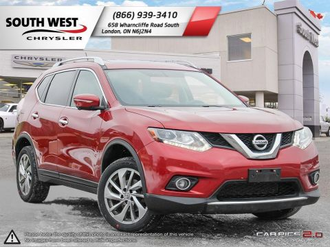 Pre-Owned 2015 Nissan Rogue | SL | Navigation | AWD | Moonroof | Leather AWD