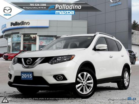 Certified Pre-Owned 2015 Nissan Rogue SV - AWD - BRAND NEW RUBBER- AWD