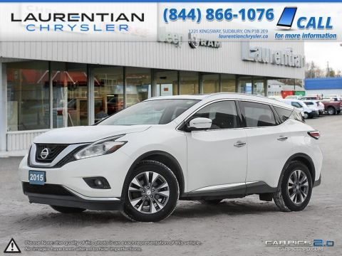 Pre-Owned 2015 Nissan Murano SL AWD - PANORAMIC SUNROOF!! BLIND-SPOT MONITORS!!