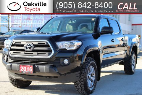 Pre-Owned 2016 Toyota Tacoma SR5 V6 with Clean Carfax and Single Owner