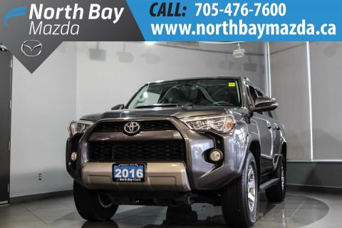 Pre-Owned 2016 Toyota 4Runner SR5 With AWD, Heated Seats, Bluetooth