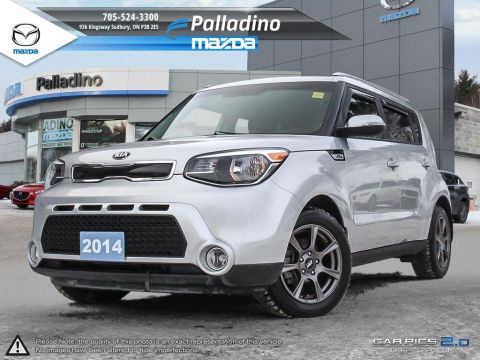 Certified Pre-Owned 2014 Kia Soul EX - LOW KMS - CLEAN - WINTER TIRES FWD Hatchback