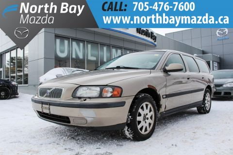 Pre-Owned 2002 Volvo V70 Self Certify FWD Station Wagon