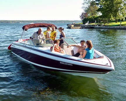 Pre-Owned 1994 Cobalt 252 VERY LOW HOURS - GREAT FAMILY BOAT - GARMIN GPS