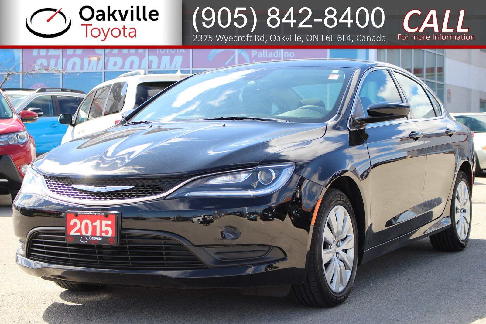 Pre Owned 2016 Chrysler 200 Lx With Winter Tires And Single Owner