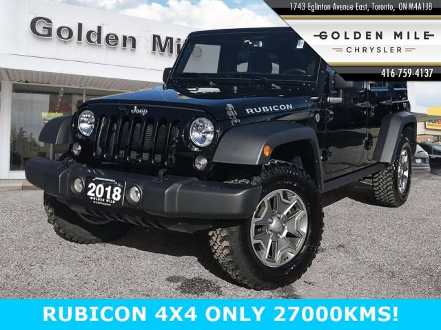 Certified Pre-Owned 2018 Jeep Wrangler JK Unlimited Rubicon FOUR DOOR