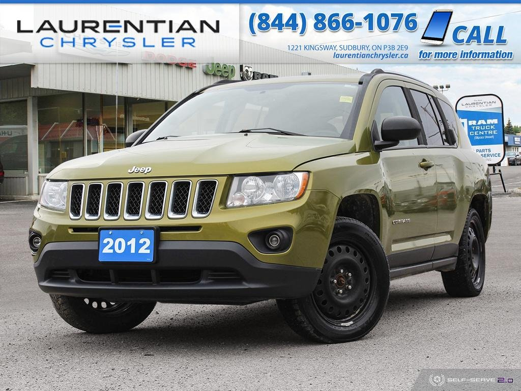 Pre-Owned 2012 Jeep Compass Limited - SELF-CERTIFY