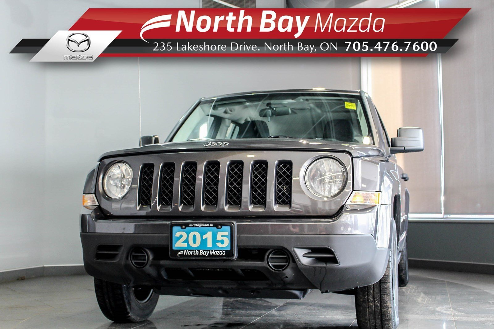 Pre-Owned 2015 Jeep Patriot Sport FWD with Cruise Control, Cloth Interior, A/C