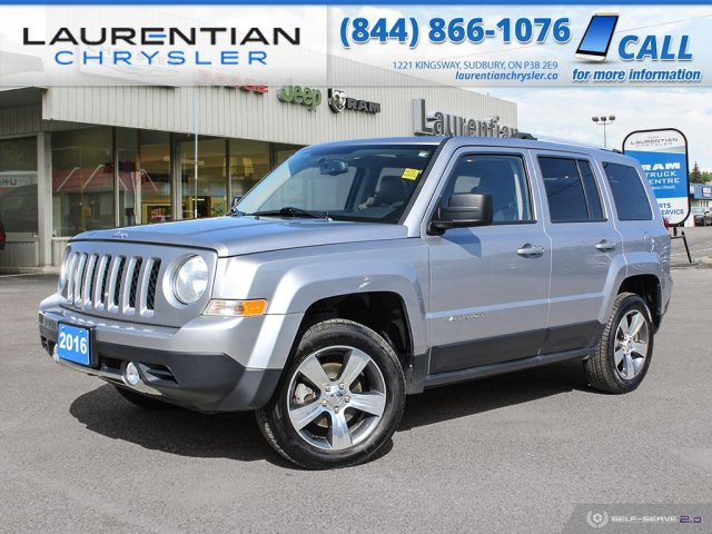 Pre-Owned 2016 Jeep Patriot High Altitude - DRIVE JEEP CAPABILITY TODAY !!