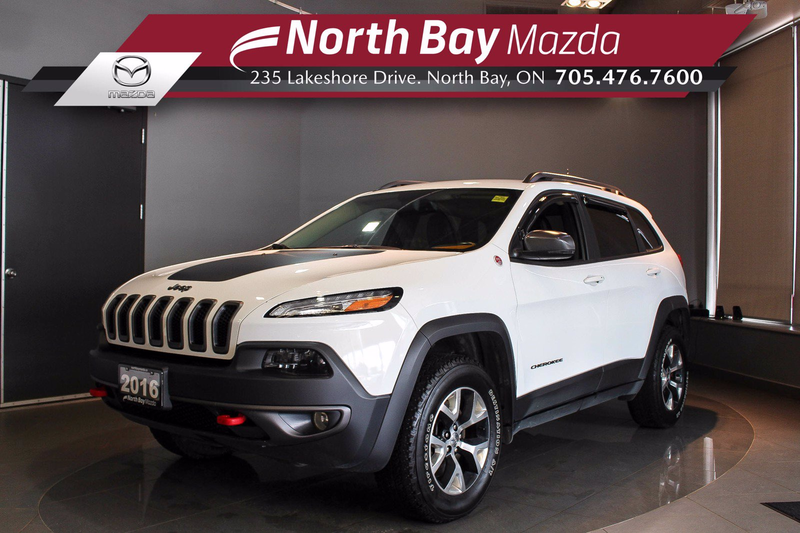 Pre-Owned 2016 Jeep Cherokee Trailhawk 4WD - Click Here! Test Drive Appts Available!