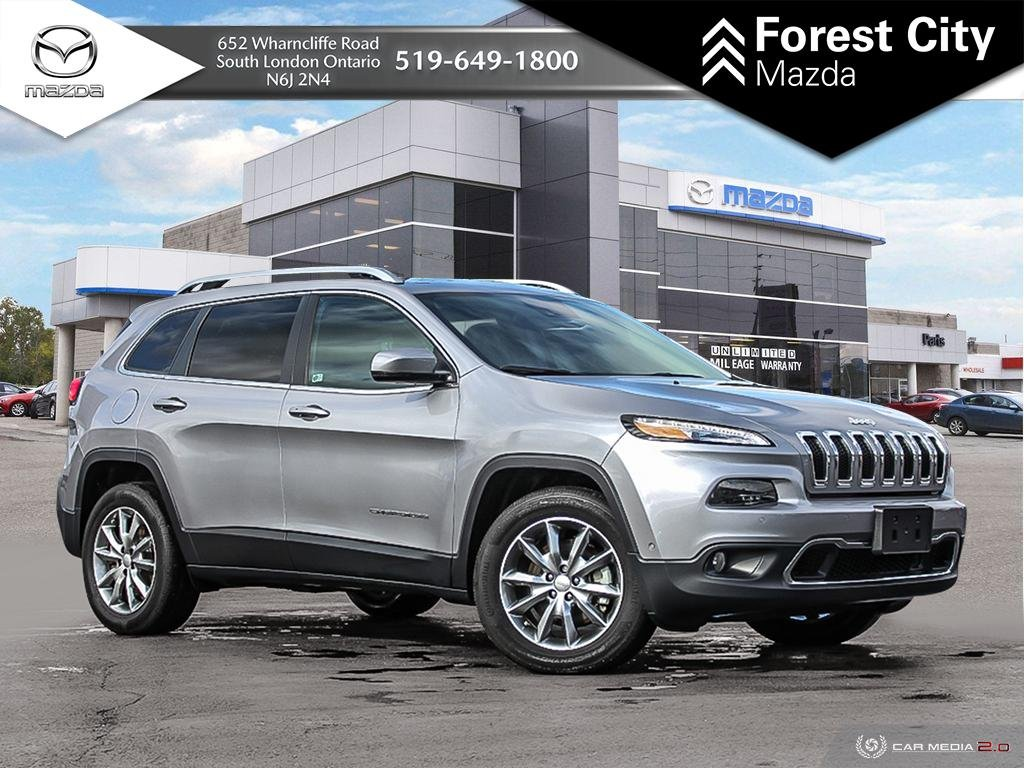Pre Owned 2017 Jeep Cherokee Limited Demo