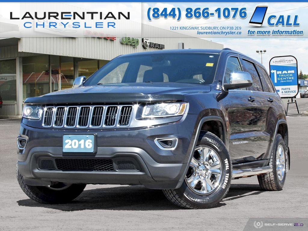 Pre-Owned 2016 Jeep Grand Cherokee Laredo - BLUETOOTH, 4X4!!!!