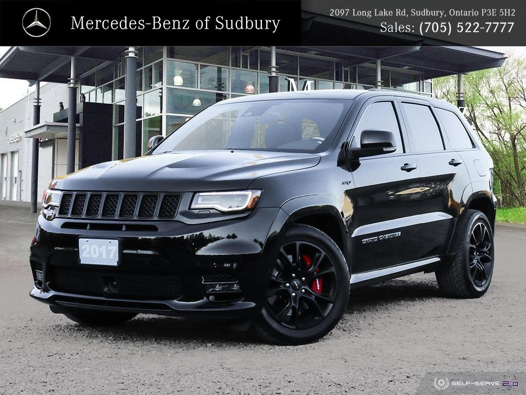 Pre-Owned 2017 Jeep Grand Cherokee SRT - 475 HORSE POWER - 0-60 IN 4.4 SECONDS - JUST OVER 10,000 KMS