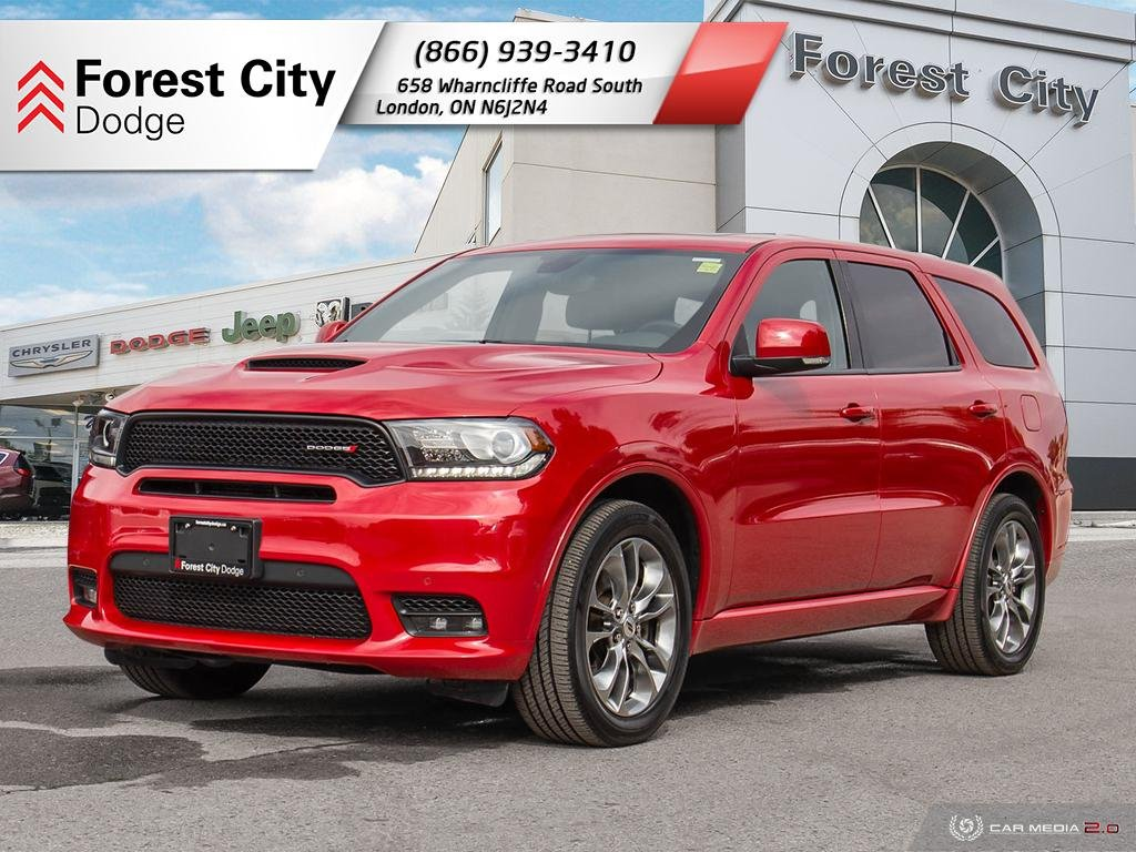 Pre-Owned 2019 Dodge Durango R/T | Leather Trim Seats | Back-up Cam | NAV