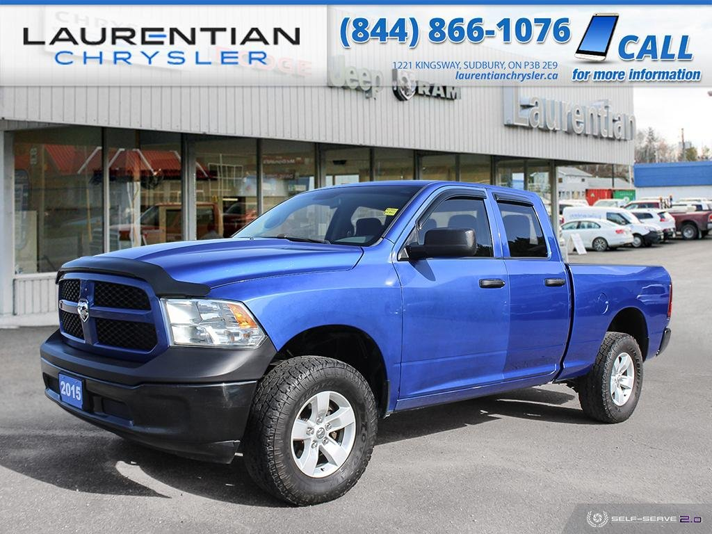 Pre-Owned 2015 Ram 1500 ST - DRIVE RAM CAPABILITY AND HEMI POWER !