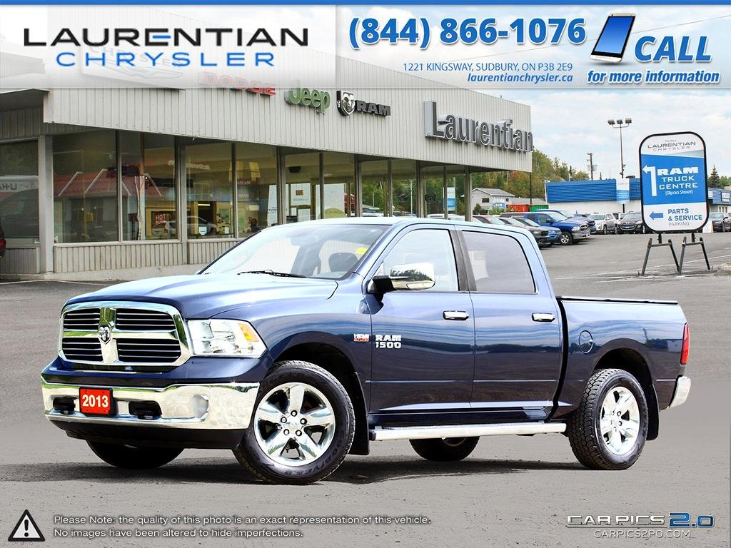 Pre Owned 2013 Ram 1500 Big Horn Heated Seats Steering 2014 Dodge Tow Hooks Wheel