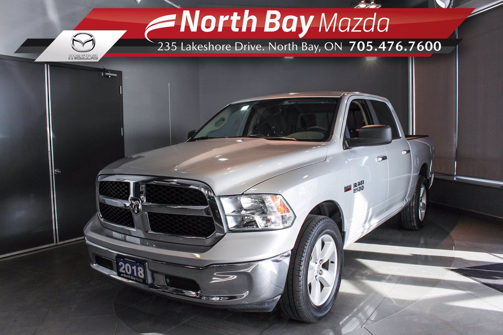 Pre-Owned 2018 Dodge RAM 1500 SLT - Test Drive Available by Appt!