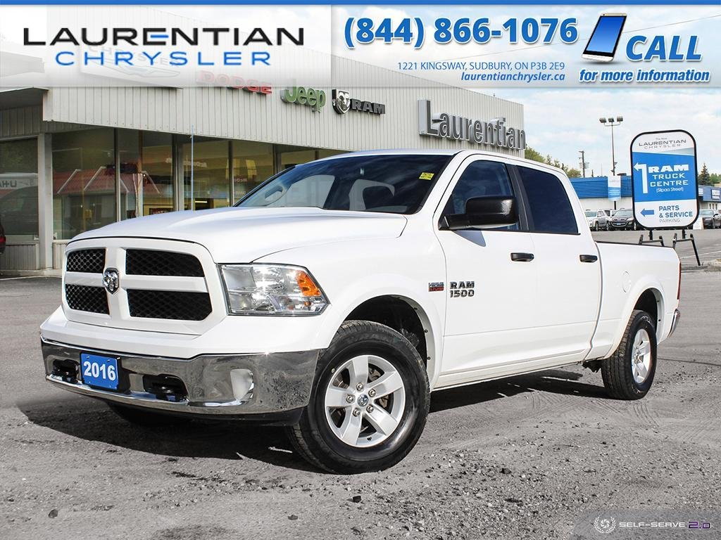 Pre-Owned 2016 Ram 1500 Outdoorsman - TRY RAM POWER AND CAPABILITY !